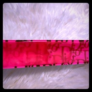 Authentic Dior Vintage Snap Bracelet Pink